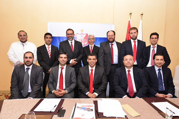 Al Ahly Club - First Board of Directors  Meeting