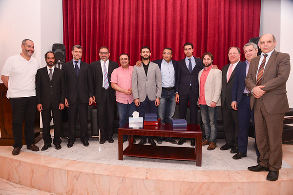 Libyan Community Meeting with Members of the House of Representatives and prominent Media Personalities at the Libyan Consulate in Dubai