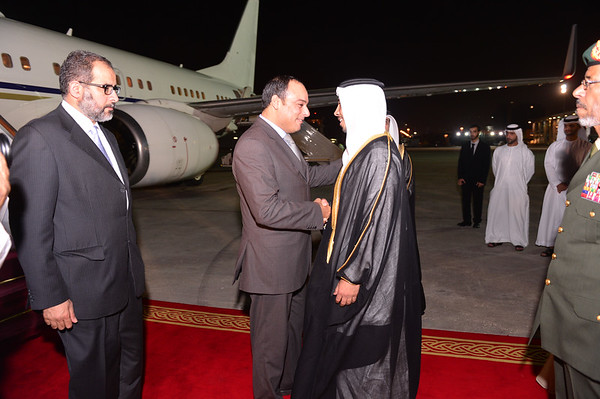 Official Visit by Deputy Prime Minister of Libya to the UAE